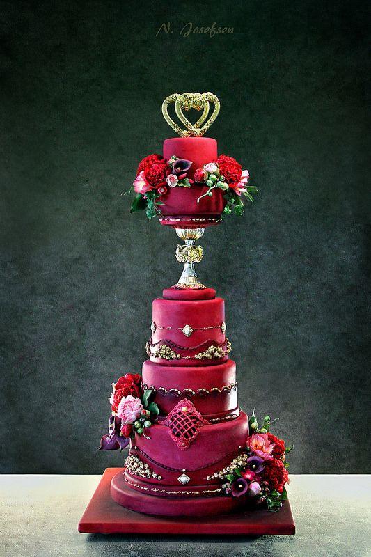 Wedding cake | da Neli Josefsen (Nelka)