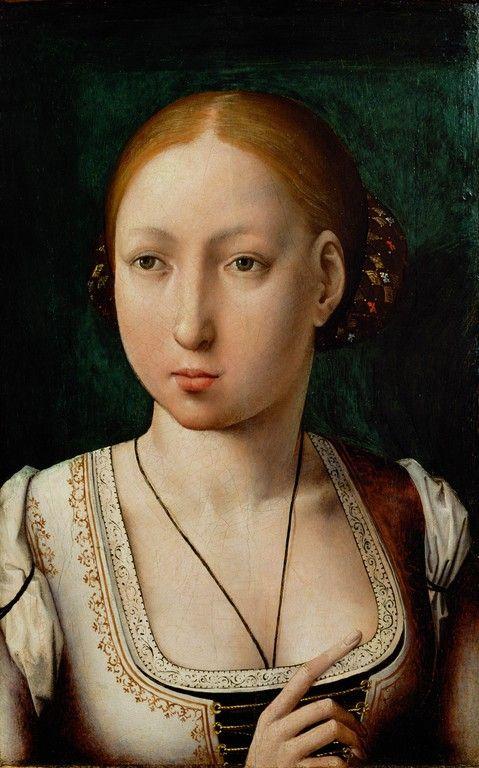 Juan de Flandes, Portrait of Joan the Mad, 1496-1500