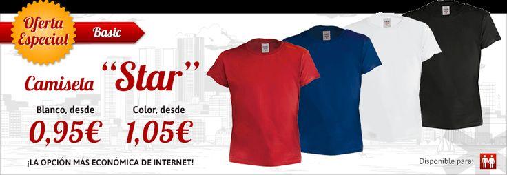 Camisetas al mejor precio