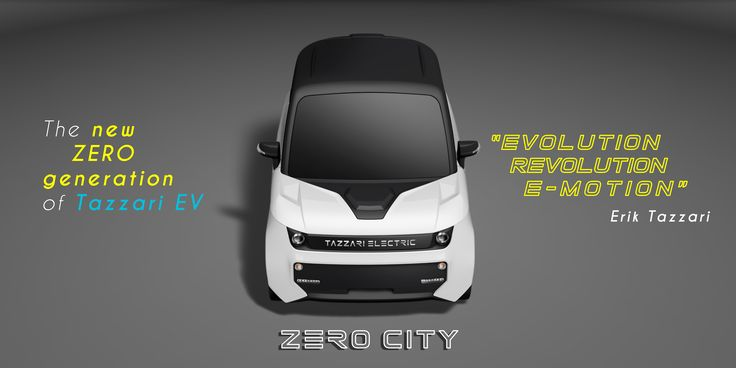 """""""The new ZERO generation, future is coming to the city! Drive a Tazzari ZERO CITY from 16 years old! Steel structural frame and safety cell, electro-powered four discs braking system and ABS"""" #quadricycle #quadricycles #electriccar #electriccars #tazzari #zero #tazzarizero #evs #ecomobility"""