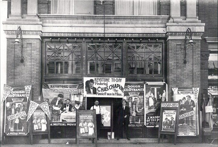 cinema frontage 1914-1...