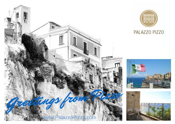 Greetings from Pizzo Postcard for our guest at Palazzo Pizzo Residence in Pizzo Calabro