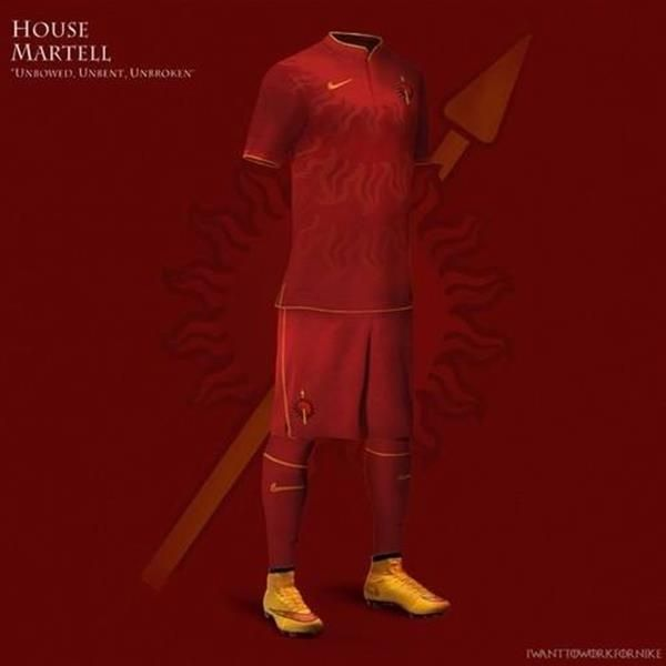 """Game Of Thrones"" Soccer Uniforms Bring The World Cup To Westeros"