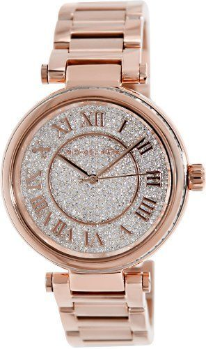 Michael Kors Skylar Rose Goldtone Stainless Steel Two-Hand Bracelet Watch - Rose Gold Michael Kors,http://www.amazon.com/dp/B00GY5KQS6/ref=cm_sw_r_pi_dp_WmNGtb1MJ0WD187Y