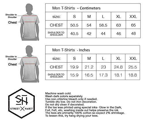 T-Shirt Col Rond Noir Pour Homme – Motif Chouette Geométrique – Look Urbain Street Art – Taille M: Tweet C'est le moment d'avoir le swag!…
