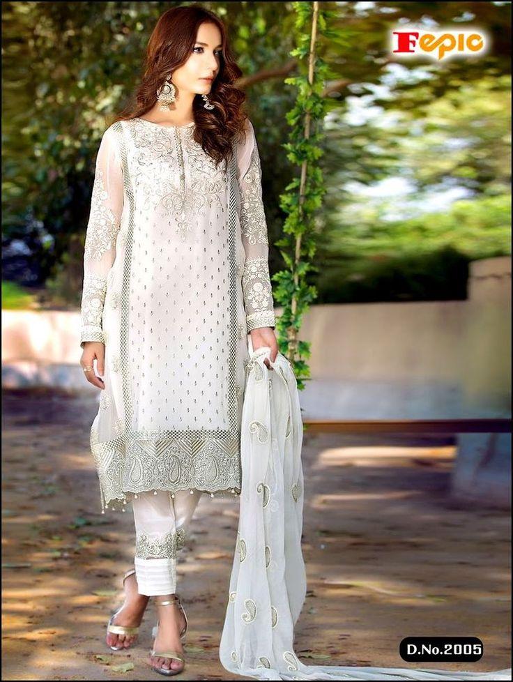 Salwar Indian Designer Suit Pakistani Ethnic Dress New Bollywood Anarkali Kameez #TanishiFashion