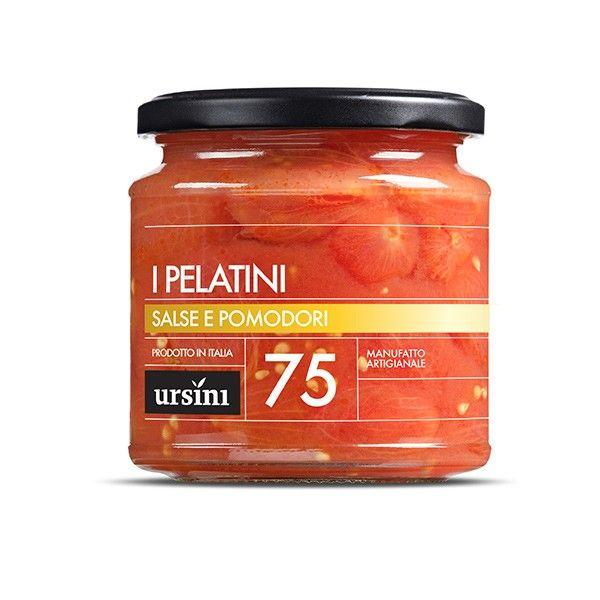 Vendita online | I Pelatini pomodori pelati vasetto da gr. 200 conf. da 6 Ursini - Gastronomia - Prodotti Italiani