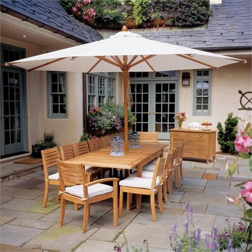 Outdoor Commercial Wood From Patio Umbrella Store