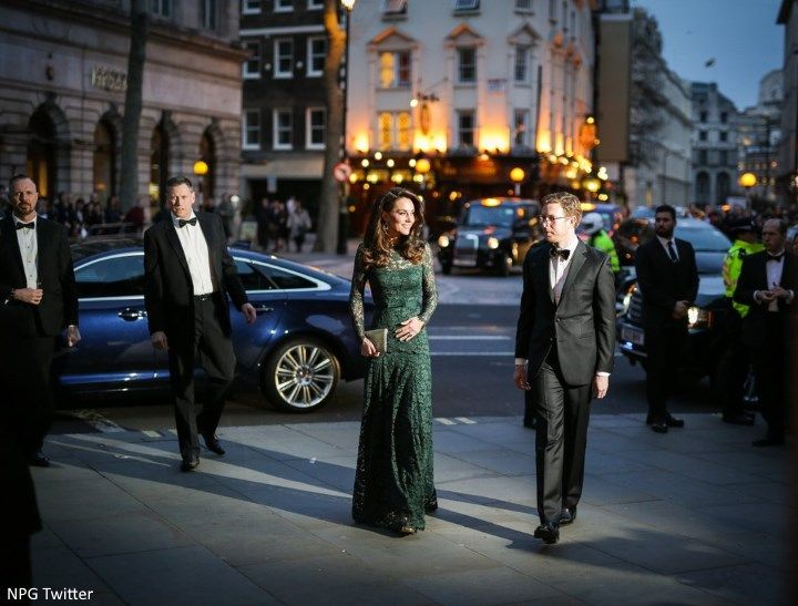 The Duchess of Cambridge attended the glamorous 2017 Portrait Gala at the National Portrait Gallery  in London this evening.      The Duches...