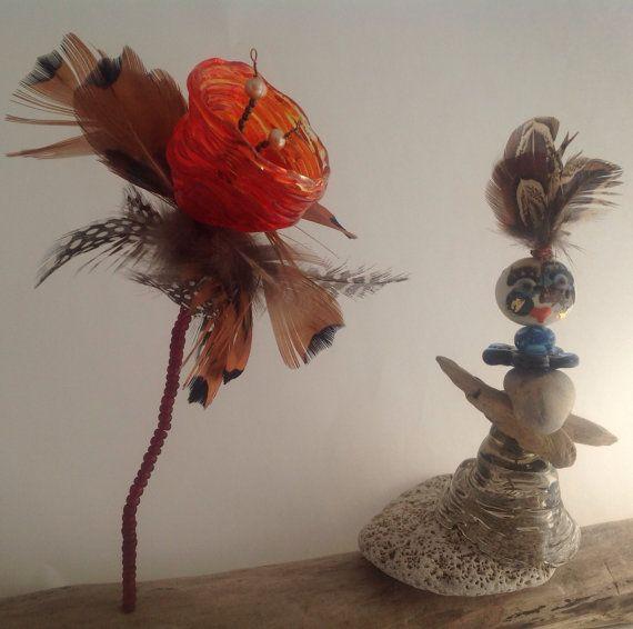 L'homme à la fleur par GaranceEtIndigo sur Etsy, $60.00
