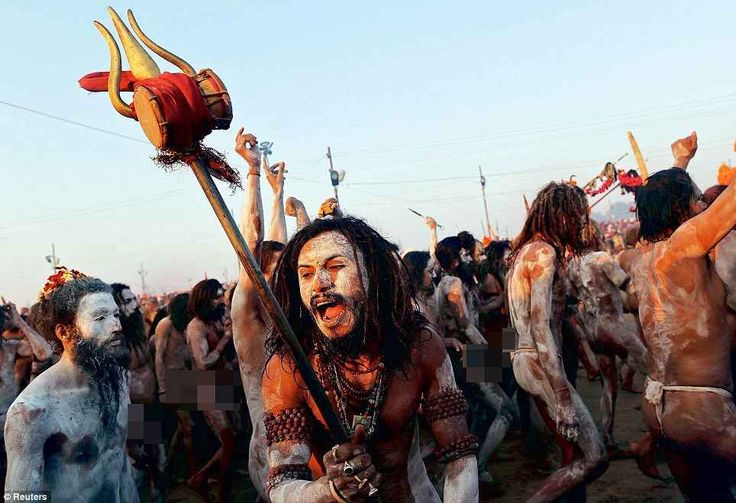 Amazing, Strange, And Weird Pictures Of Sadhu, Sants And Yogis At Ujjain Mahakumbh 2016