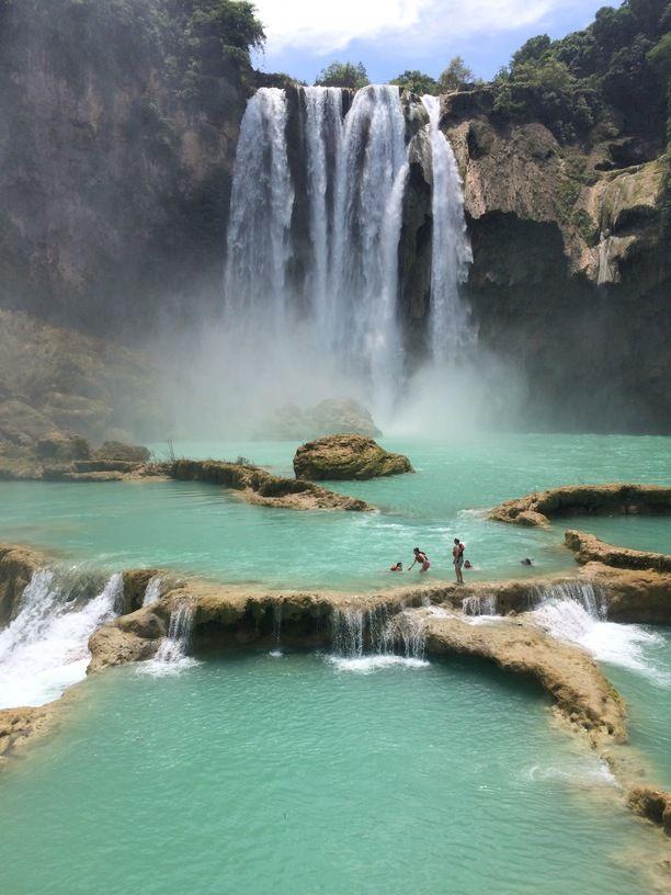 Cascada el Salto, San Luis Potosi, Mexico - Cascada El Salto is a...