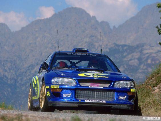 Subaru Impreza WRC 2000 - Rallye de France #rally_cars: