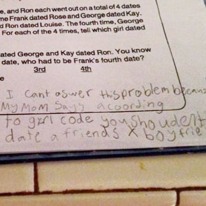4th-Grader Reminds Us That Girl Code Is Unbreakable