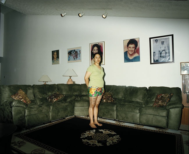 Edith Amituanai, Diamond, 2008, from the series North To The Future,C-type photograph
