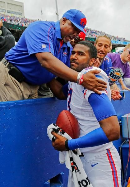 Buffalo Bills quarterback EJ Manuel Eric Manuel Sr