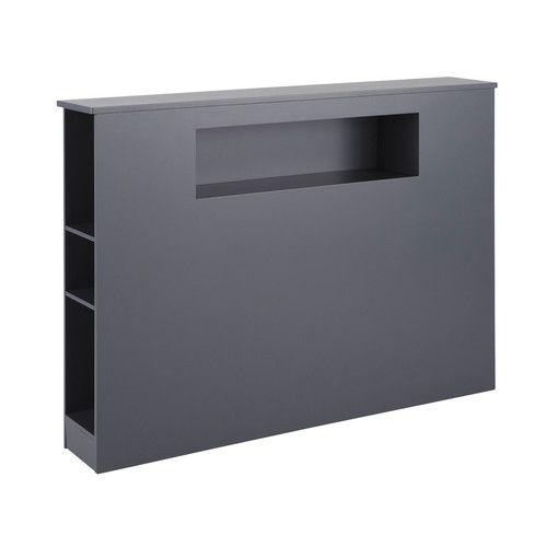 Tête de lit 140cm grise