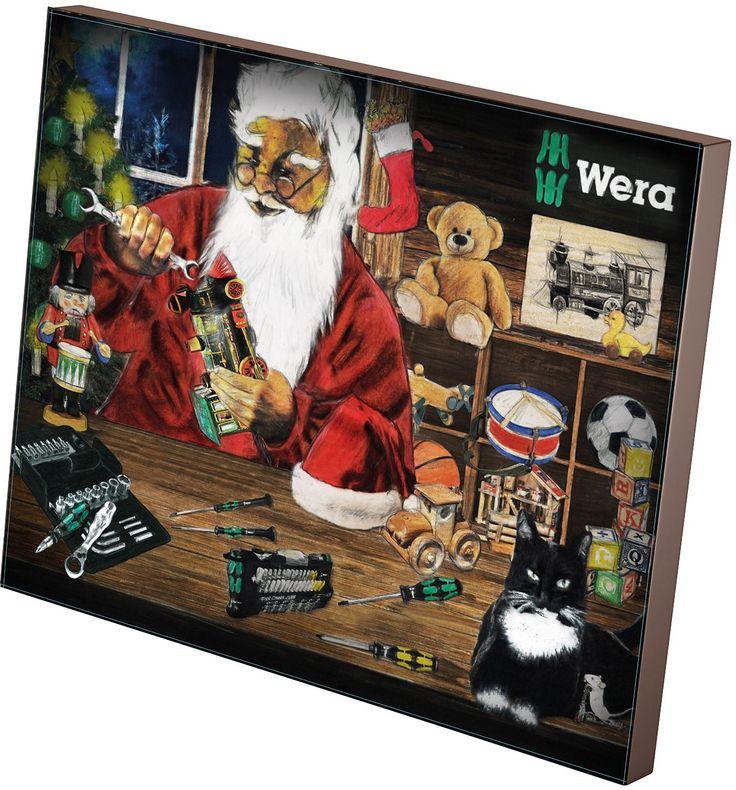 Wera Werkzeug-Adventskalender 2015, 05135996001: Amazon.de: Baumarkt
