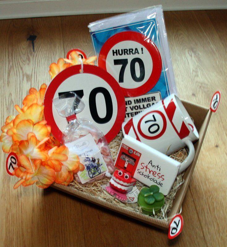 70 Birthday Gift Basket Geburtstag Geschenkkorbe 30 Geburtstag