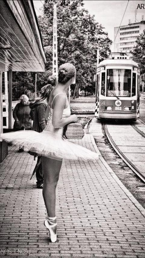 For Hannah ...Waiting on the tram... Jess C. Scott / A Lifetime Photography. ☚