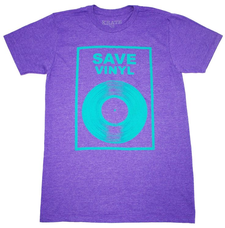SAVE VINYL, men graphic t-shirts