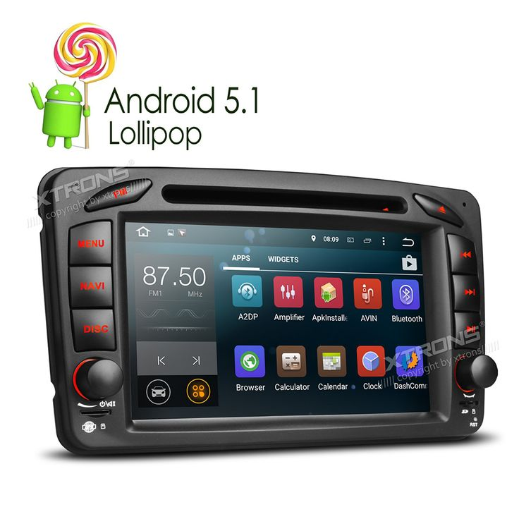 """Newest 7"""" Android 5.1 Lollipop Quad Core Car Radio DVD GPS For Mercedes-Benz Vaneo A-W168 CLK-C209 W209 Viano Vito G-W463 Stereo"""