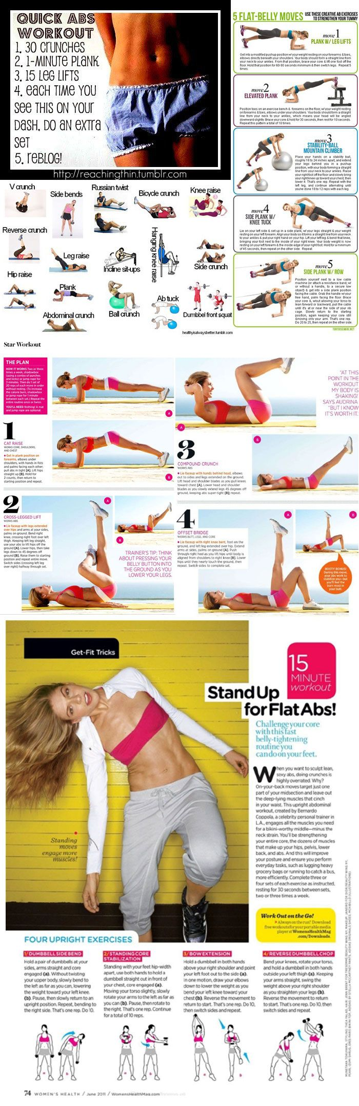 Phenomenal abdominals :-) Workout tips for abs.
