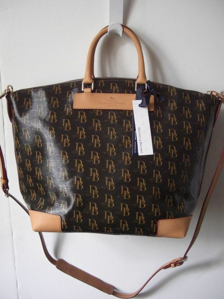 Dooney Amp Bourke 1975 Db Signature Vanessa Satchel Bag