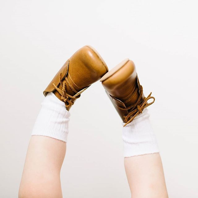 Gorgeous handmade leather boots for babies and toddlers from Adelisa & Co. The perfect staple for your baby and toddler's wardrobe.
