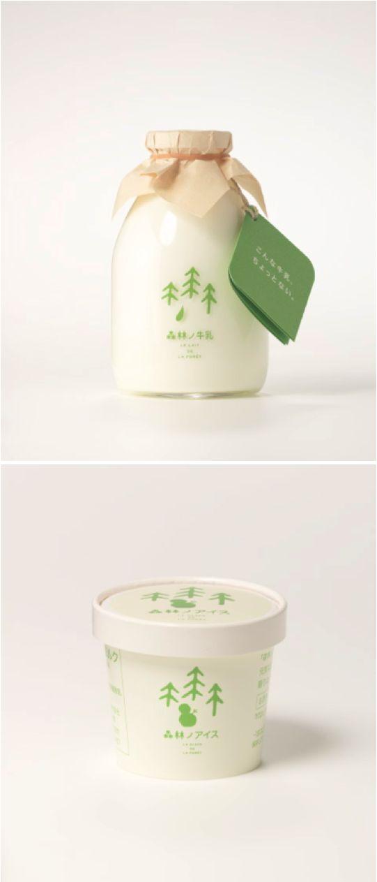Packaging:   Milk & Ice Cream.