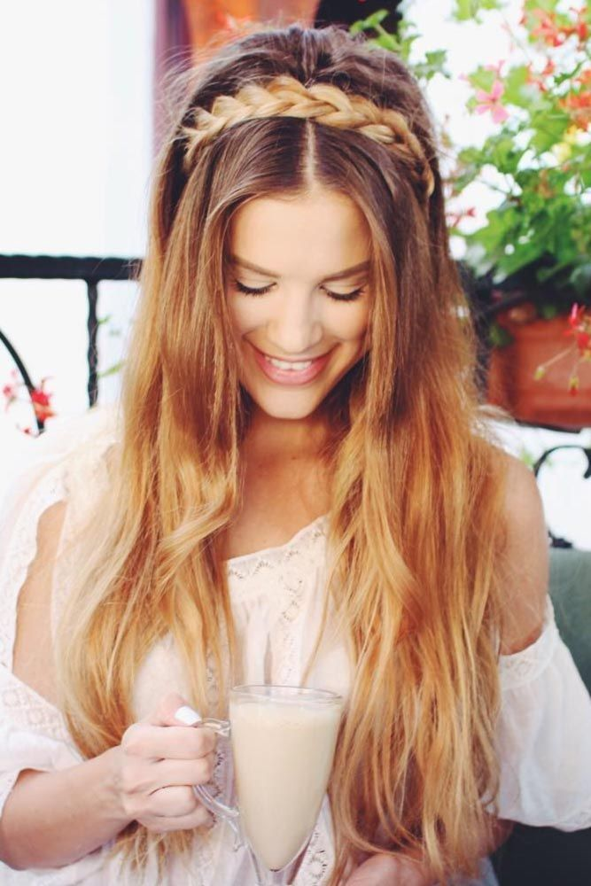 Cute Straight Hairstyles For Long Hair See More Http Lovehairstyles Com Cute Straight Hairstyles Lo Straight Prom Hair Straight Hairstyles Easy Hairstyles