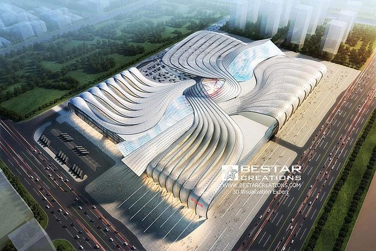 This is Wanda Mall of Qingdao, which is part of Qingdao Oriental Movie Metropolis -an ambitious project invested by Chinese billionaire Wang Jianlin in the coastal city of Qingdao, China. The moviemaking metropolis, with state-of-the-art film and TV soundstages and a massive water tank, will draw big Hollywood productions. The design firm for this mall is TVS Design, and all 3D work was done by BestarCreations . www.bestarcreations.com