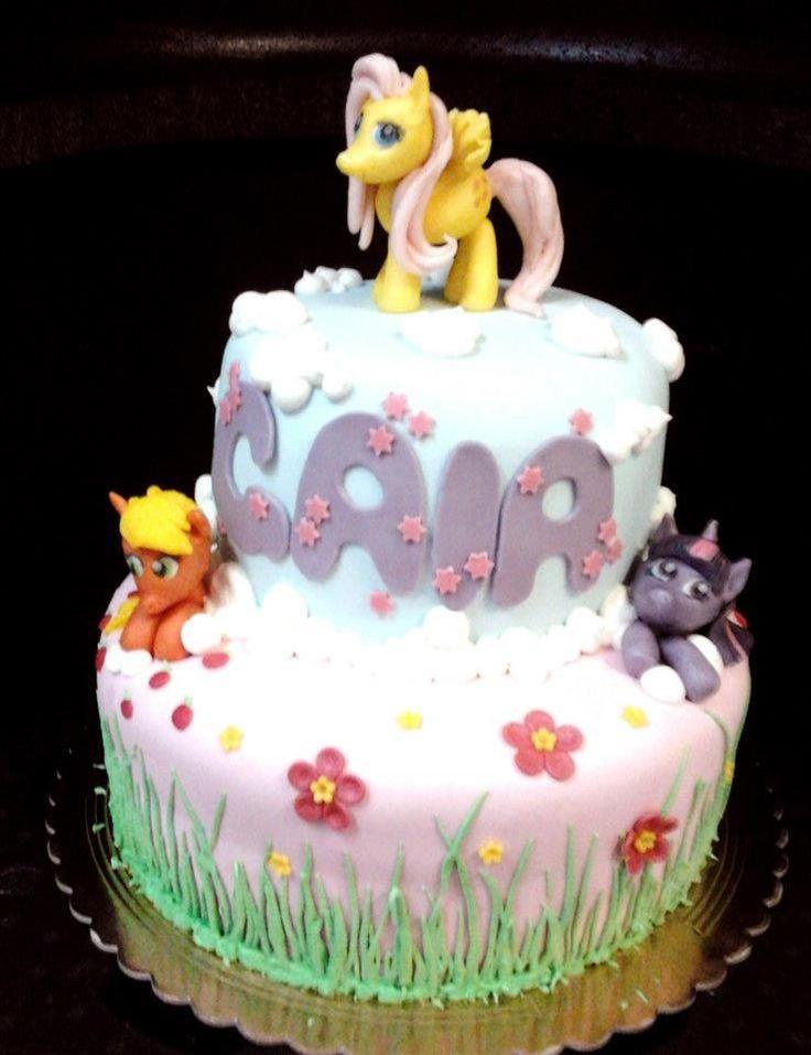 I Mini Pony della nostra infanzia...Torte Artistiche per qualsiasi evento della pasticceria La Mimosa di http://www.simocakedesigner.it