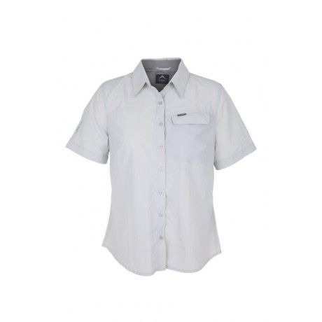 K-Way's Elgin is a short-sleeved nylon explorer shirt with a wicking, quick-dry, UV protective finish. The wicking finish helps to transport excess perspiration from the skin, keeping you cool. There is also additional mesh ventilation at the back of the neck. This versatile, stay-dry, sun protection shirt is designed to be hardwearing.