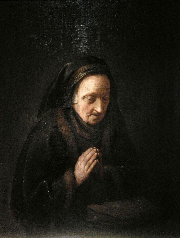 Ηλικιωμένη προσεύχεται (1630-35) Εθνικό Μουσείο Βαρσοβίας