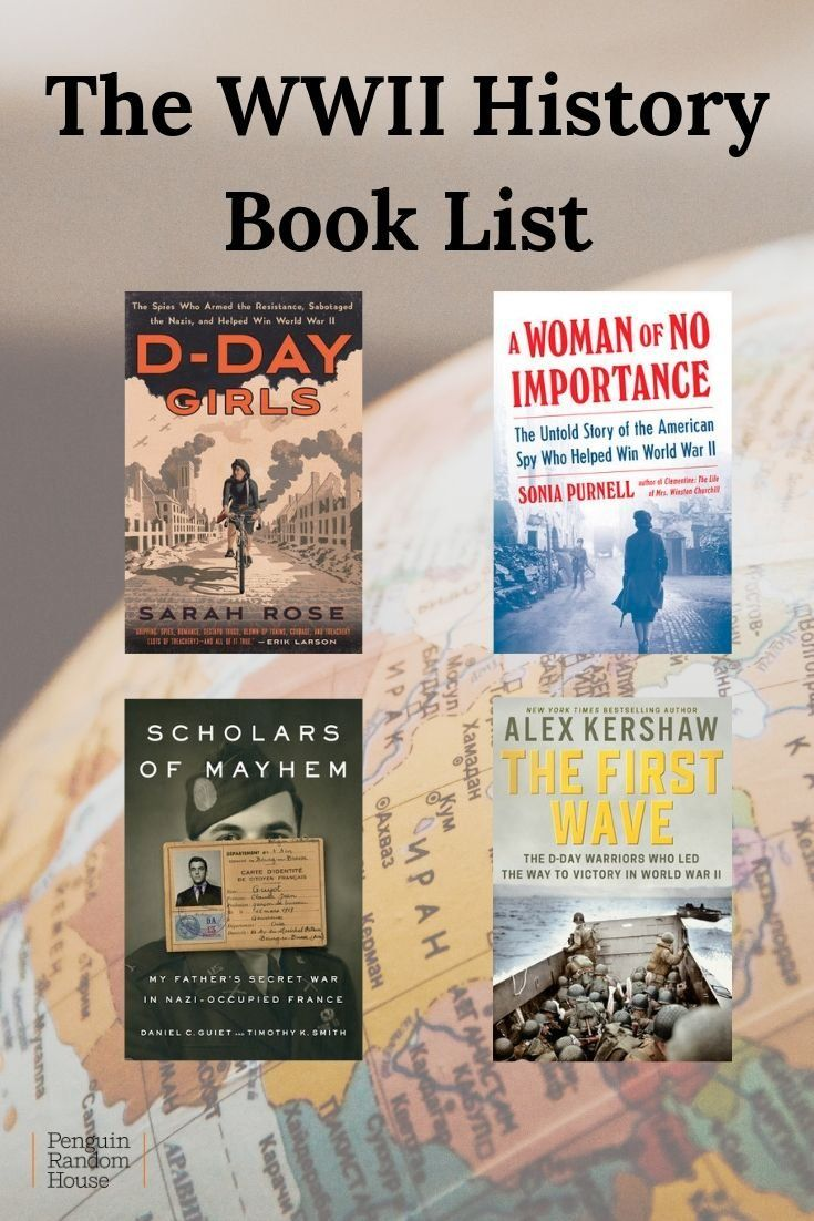 The Wwii History Book List Wwii History Military History Books