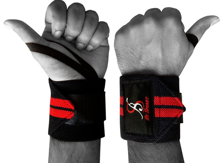Be Smart Weight Lifting Wrist Wraps Bandage Hand Support GYM Straps Brace Cotton