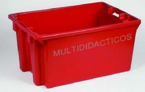 #Caja juguetes #roja - Tienda Educamueble
