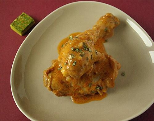 poulet au vinaigre à la lyonnaise