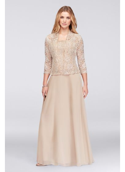 e69ecf4aa15 Long A-Line Jacket Formal Dresses Dress - Emma Street