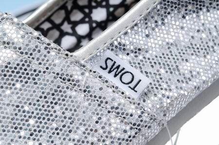 Toms Silver Sequins Women Classics [toms shoes 055] - $17.49 : Cheap Toms Stripe shoes for Men and Women Sale