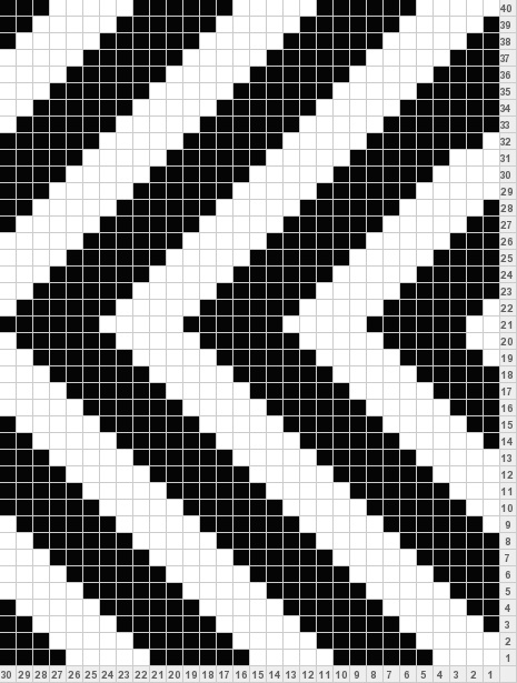 Wayuu Mochila Black & white graphic