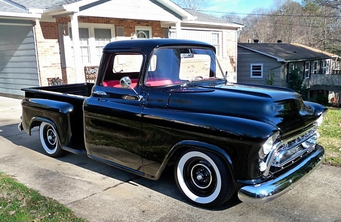 55 57 chevy pickup trucks for sale in california autos autos weblog. Black Bedroom Furniture Sets. Home Design Ideas
