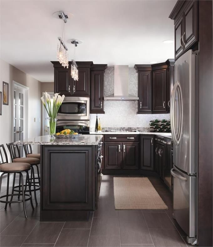 Dark Kitchen Cabinets Light Floors: 393 Best DREAM KITCHENS Images On Pinterest