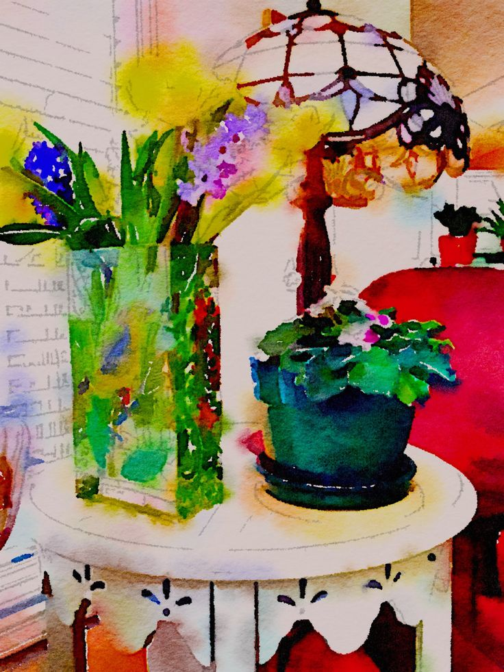 TABLE AND LAMP by CRussellPhotography on Etsy