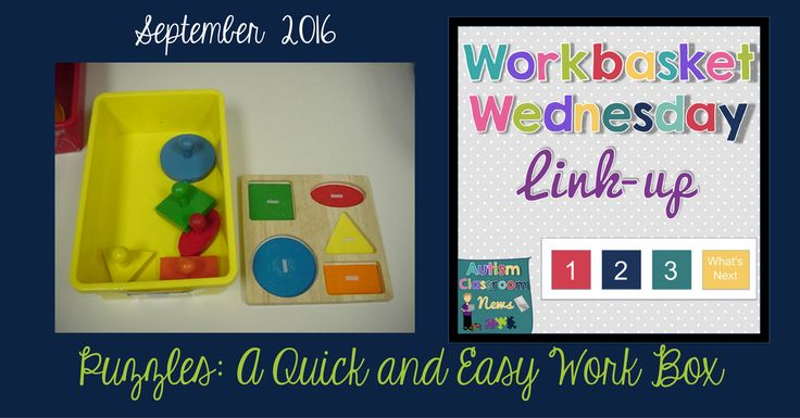 Puzzles: A Quick and Easy Work Box