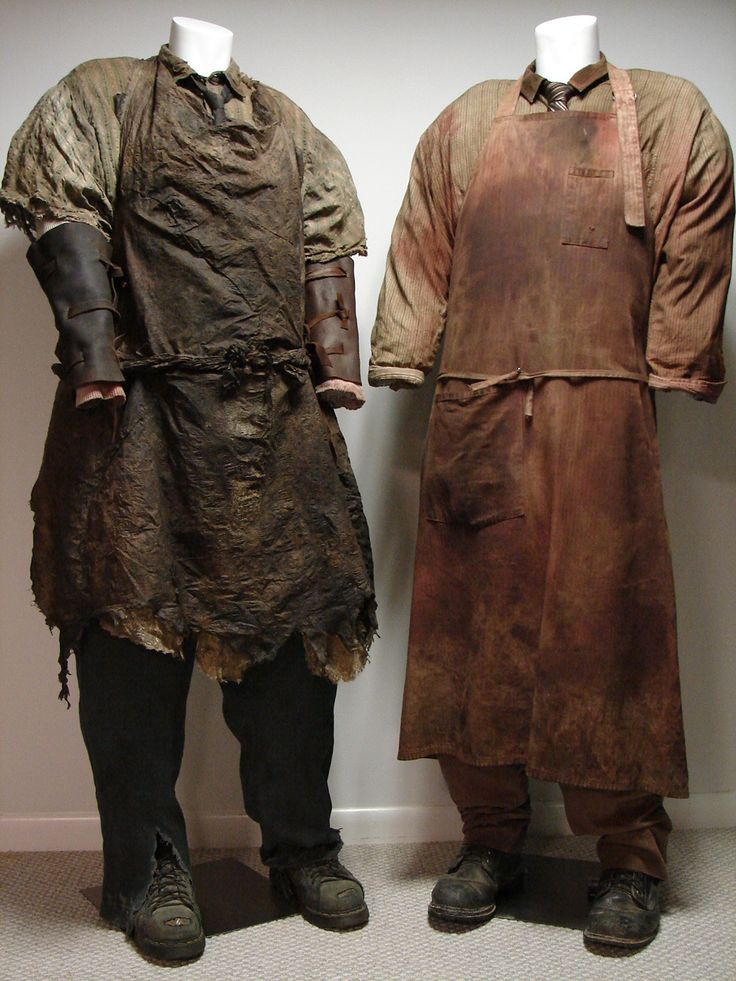 Leatherface Costumes over the years - inspiration
