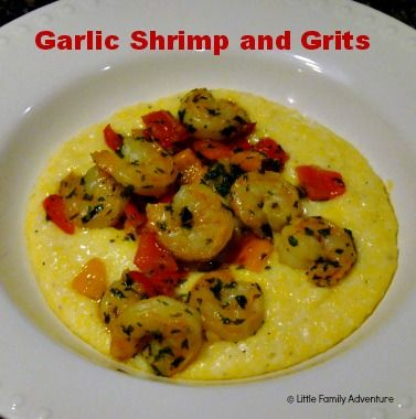 Garlic Shrimp with Bacon and Smoked Gouda Grits | Recipe