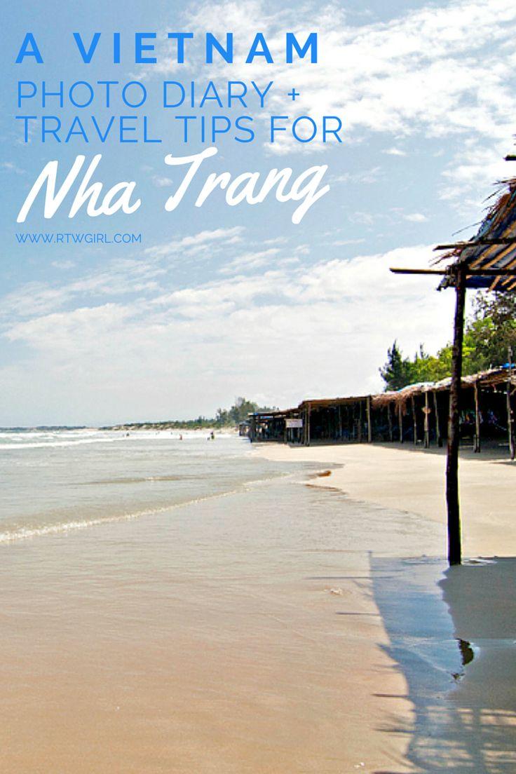 A Nha Trang, #Vietnam photo diary + travel tips   http://www.rtwgirl.com/vietnam-nha-trang-photo-diary/
