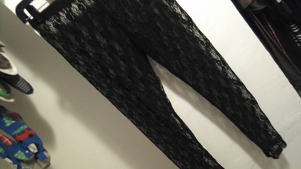 Sexy Sheer Black Lace Pants / Tights / Lingerie for Sale in Baltimore, MD